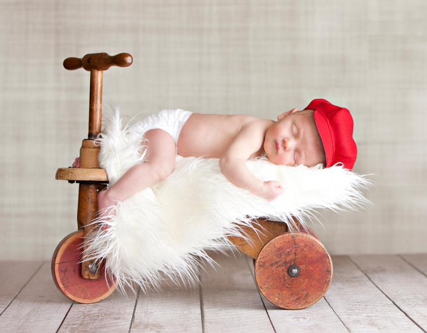 Portland Infant Photographer | Acorn Studios